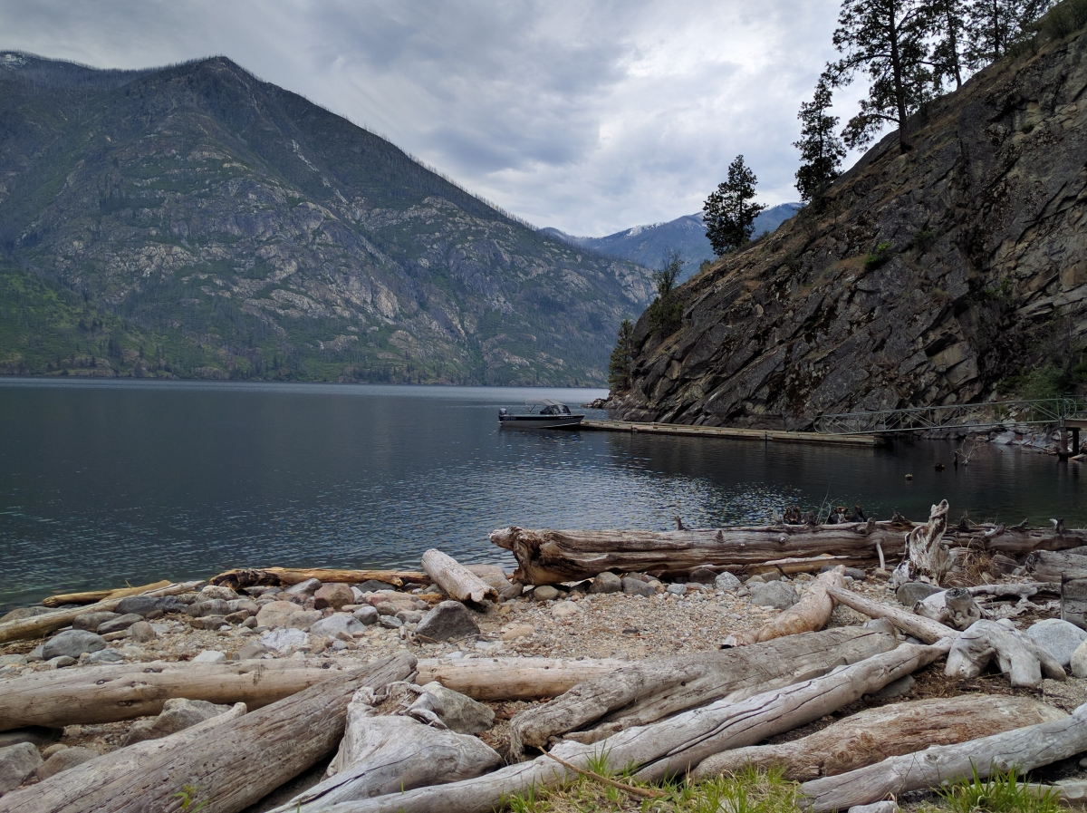 Exploring northern Lake Chelan